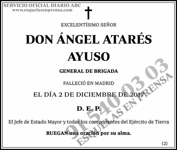 Ángel Atarés Ayuso